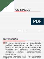 CONTRATOS TIPICOS EN PERÚ