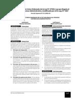 Tuo Ley de Proceso Contencioso Administrativo