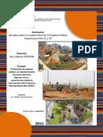 Producción de espacio público en Asentamientos Humanos de Lima. Algunas micro - experiencias desde la intervención del Programa Metropolitano BarrioMío.