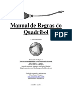Manual de regras do quadribol
