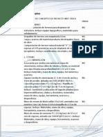 Catalogo de Conceptos de un Proyecto Educativo