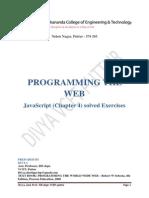 Javascript Exercises