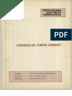 Curvado Tubos Conduit