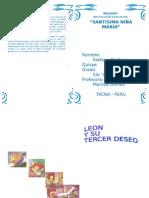 Resumen de La Obra Leon y Su Tercer Deseo