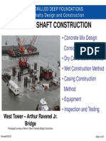 Drilled Shaft Design and Construction