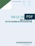 California Body of Knowledge