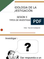 Tipos de Investigación II
