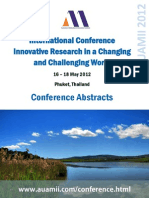 IRCCW2012 Abstracts