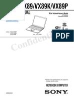 SONY VaioPCG VX89 Con Diagrama