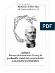 Epistemología e Historia de Las Ciencias Sociales