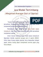 C28 Biaya Modal Tertimbang Manajemen Keuangan II