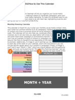 HubSpots Social Media Content Calendar