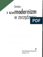 Monika Kostera 1996, Postmodernizm w zarządzaniu