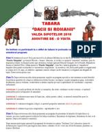Tabara Dacii Si Romanii - Valea Sipotelor