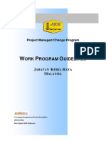 Work Programe Guidelines