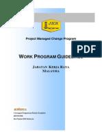 Work Programe Guidelines