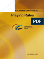 fit playing rules 4th edition