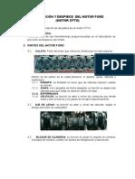 Descripción y Despiece Del Motor Ford