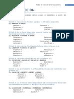 Latín I - Léxico - Reglas de Evolución