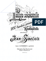(9) Sånger för blandad kör ur årets 1897 promotionskantat, Op.23