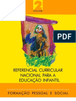 Referencial Curricular Nacional para a Educação Infantil - Ivolume2