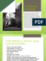 Ficha de La Lista de Schindler