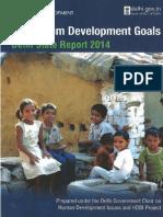 Millennium+Development+Goals+Delhi+State+Report+2014