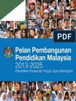 Pelan Induk Pembangunan Pendidikan