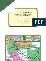 Balkan Wars Map
