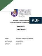 Report b Azman