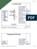 Transistor Gates