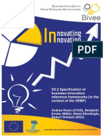D2.2 Specification of Business Innovation Reference