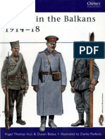 WW I - Armies in the Balkans 1914