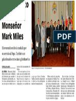 150930 La VerdadCG- El Parlamento Distingue a Monseñor Mark Miles p.8