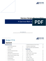 Pakistan Budget Review FY16