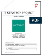 It Strategy Project
