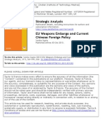 EU Weapons Embargo Strategic Analysis 2013