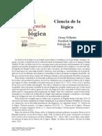 Noticia de la nueva traducción de la Ciencia de la Lógica