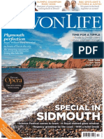 Devon Ciders and Front Cover of Devon Life