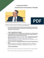 Damodaran Report