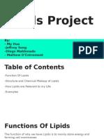 lipids project  1