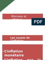 Monnaie Et Inflation Format (Doc)