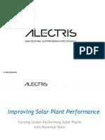 Alectris SolarPlaza Solar OM NA Event Presentation