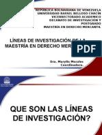 Lineas de Investigacion de La Maestria de Derecho Mercantil (2)
