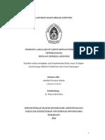 laporan anestesi GA peritonitis