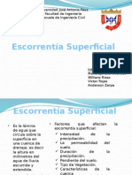 Escorrentia