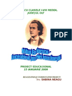 Proiect Educational Mihai Eminescu