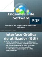 Prática nº 09 - Projeto de interface com o utilizador