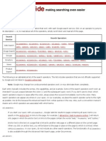Google Search Operators - Google Guide