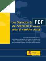 los servicios sociales de atencion primaria